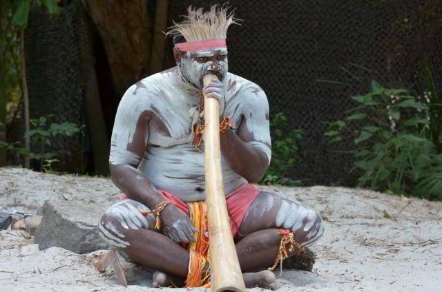 Магическая гуделка Австралийских аборигенов