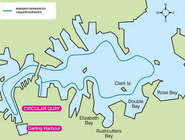 sydney-harbour-cruise-map