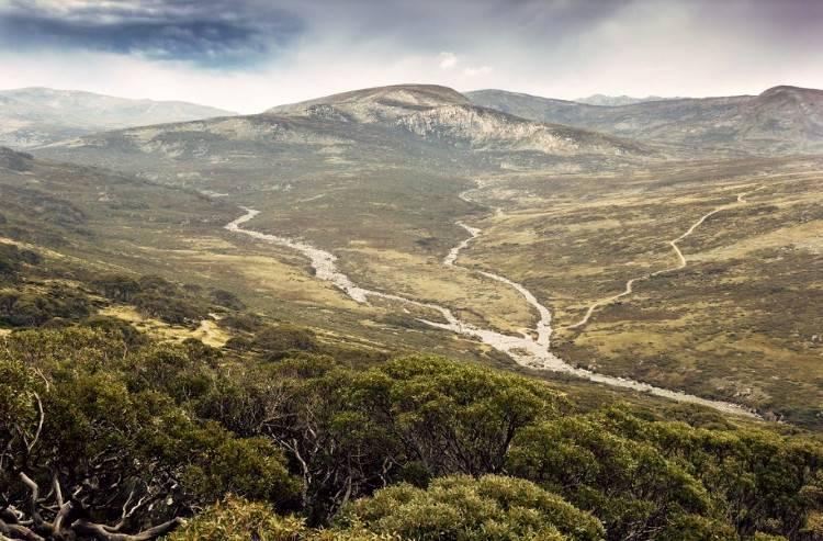 Речная долина в Австралии