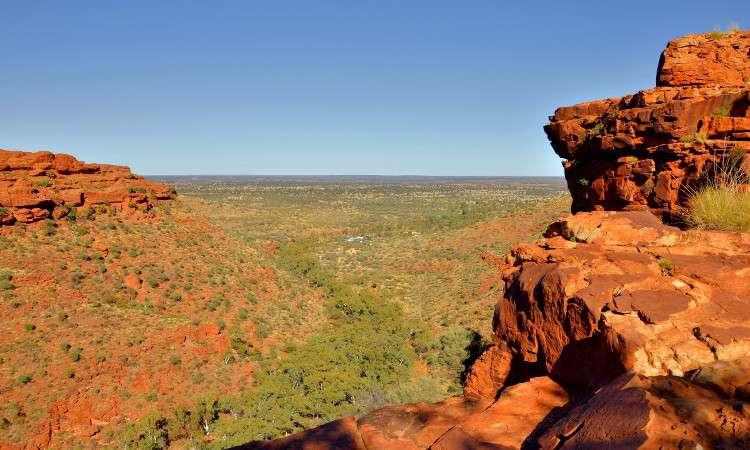 Национальный парк Ватаррка Красный Центр Австралия