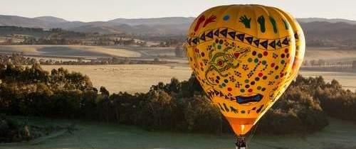 На воздушном шаре над Мельбурном